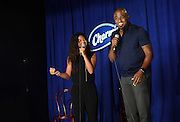 "Comedian and improv artist Wayne Brady and his daughter Maile help Charmin celebrate National Toilet Paper Day by hosting the ""Keep it Clean Comedy Show"" featuring budding comedians around the New York area, Tuesday, Aug. 25, 2015.  (Photo by Diane Bondareff/AP Images for Charmin)"