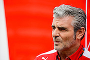 October 8-11, 2015: Russian GP 2015: Maurizio Arrivabene, team principal of Scuderia Ferrari