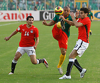 Photo: Steve Bond/Richard Lane Photography.<br /> Egypt v Cameroun. Africa Cup of Nations. 22/01/2008.