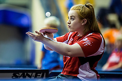 SHACKLETON Megan of Great Britain during SPINT 2018 Table Tennis world championship for the Disabled, Day Two, on October 18th, 2018, in Dvorana Zlatorog, Celje, Slovenia. . Photo by Grega Valancic / Sportida