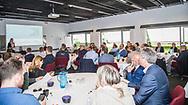 ERHVERV: Birgit Ritter taler ved FC Helsingør Netværksmøde på Comwell Borupgaard i Snekkersten den 13. juni 2017. Foto: Claus Birch