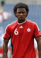 16 June 2007: Canada's Julian DeGuzman. The Canada Men's National team defeated the Guatemala Men's National Team 3-0 at Gillette Stadium in Foxboro, Massachusetts in a 2007 CONCACAF Gold Cup quarterfinal.