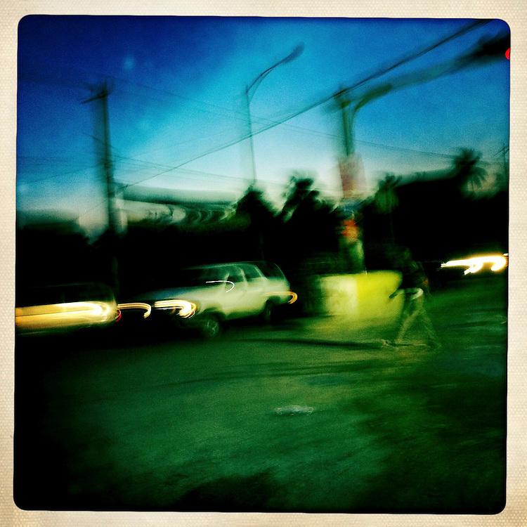 Dawn in Port-au-Prince on Friday, April 6, 2012 in Port-au-Prince, Haiti.
