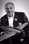 Tuskegee Airman Ray Williams flew P-47 Thunderbolts, and later retired as a police detective in Newark, New Jersey.