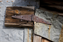 """""""Fixed""""- This old building was photographed in Sierraville, CA."""