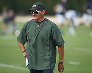 Ole Miss assistant coach Tom Allen at football practice in Oxford, Miss. on Saturday, August 3, 2013.