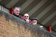Nottingham Forest fans enjoy a pre-match drink during the EFL Sky Bet Championship match between Nottingham Forest and Burton Albion at the City Ground, Nottingham, England on 21 October 2017. Photo by John Potts.
