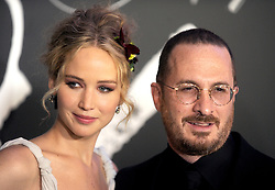 Jennifer Lawrence and Darren Aronofsky arriving for Mother! premiere held at Radio City Music Hall, New York City, NY, USA September 13, 2017. Photo by Dennis Van Tine/ABACAPRESS.COM