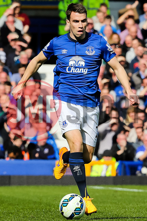 Everton's Seamus Coleman - Photo mandatory by-line: Matt McNulty/JMP - Mobile: 07966 386802 - 04/04/2015 - SPORT - Football - Liverpool - Goodison Park - Everton v Southampton - Barclays Premier League
