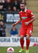 Leyton Orient midfielder Sammy Moore on the ball during the Sky Bet League 2 match between Leyton Orient and Oxford United at the Matchroom Stadium, London, England on 17 October 2015. Photo by Bennett Dean.