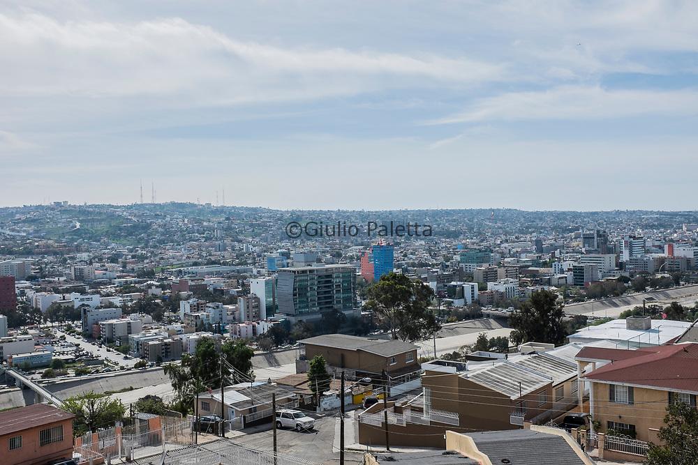 The city of Tijuana, Baja California, Mexico