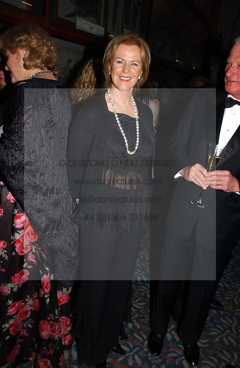 PRINCESS ANNI-FRID REUS VON PLAUEN she was Frida from pop group ABBA  at a gala dinner in the presence of HM Quenn Silvia of Sweden and HM Queen Noor of Jordan in aid of the charity Mentor held at the Natural History Museum, Cromwell Road, London on 23rd May 2006.<br /><br />NON EXCLUSIVE - WORLD RIGHTS