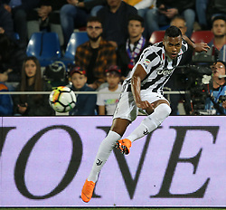 April 18, 2018 - Crotone, Calabria, Italy - Alex Sandro of Juventus during the serie A match between FC Crotone and Juventus at Stadio Comunale Ezio Scida on April 18, 2018 in Crotone, Italy. (Credit Image: © Gabriele Maricchiolo/NurPhoto via ZUMA Press)