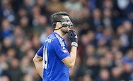 Diego Costa of Chelsea during the FA Cup match at Stamford Bridge, London<br /> Picture by Alan Stanford/Focus Images Ltd +44 7915 056117<br /> 21/02/2016