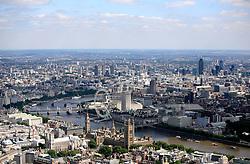 UK ENGLAND LONDON 22JUL08 - Aerial view of the Houses of Parliament during zeppelin flight over the city...jre/Photo by Jiri Rezac..© Jiri Rezac 2008..Contact: +44 (0) 7050 110 417.Mobile:  +44 (0) 7801 337 683.Office:  +44 (0) 20 8968 9635..Email:   jiri@jirirezac.com.Web:    www.jirirezac.com..© All images Jiri Rezac 2008 - All rights reserved.