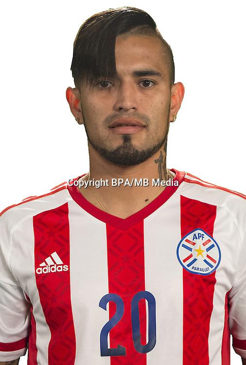 Football Conmebol_Concacaf - <br />Copa America Centenario Usa 2016 - <br />Paraguay National Team - Group A - <br />Victor Hugo Ayala