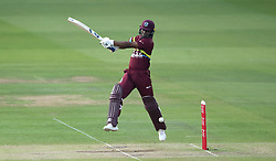 West Indies' Evin Lewis during the special fundraising T20 International match at Lord's, London.