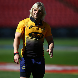 Faf de Klerk of South Africa during the South African - Springbok Captain's Run at Emirates Airline Park,<br /> Johannesburg .South Africa. 08,06,2018 Photo by (Steve Haag Sports)