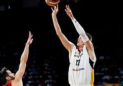 Robin Benzing of Germany during basketball match between National Teams of Germany and Spain at Day 13 in Round of 16 of the FIBA EuroBasket 2017 at Sinan Erdem Dome in Istanbul, Turkey on September 12, 2017. Photo by Vid Ponikvar / Sportida