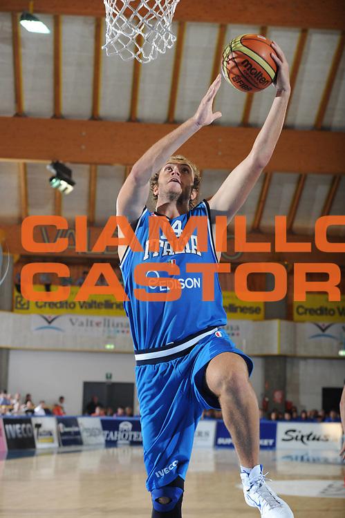 DESCRIZIONE : Bormio Torneo Internazionale Diego Gianatti Italia Bulgaria<br /> GIOCATORE : Andrea Renzi<br /> SQUADRA : Nazionale Italia Uomini<br /> EVENTO : Torneo Internazionale Guido Gianatti<br /> GARA : Italia Bulgaria<br /> DATA : 30/07/2011 <br /> CATEGORIA : tiro<br /> SPORT : Pallacanestro <br /> AUTORE : Agenzia Ciamillo-Castoria/GiulioCiamillo<br /> Galleria : Fip Nazionali 2011<br /> Fotonotizia : Bormio Torneo Internazionale Diego Gianatti Italia Bulgaria<br /> Predefinita :