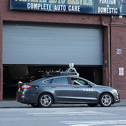 Uber Self Driving Car, San Francisco