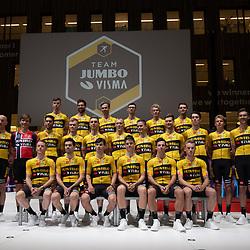 10-12-2019: Wielrennen: Teampresentatie Jumbo Visma: Amsterdam<br />Team Jumbo Visma 2020
