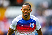 England forward Callum Wilson (Bournemouth) during the UEFA Nations League 3rd place play-off match between Switzerland and England at Estadio D. Afonso Henriques, Guimaraes, Portugal on 9 June 2019.