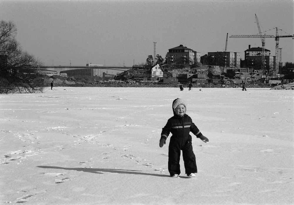 Ekensbergs varv bebyggs med bostäder i början på 80-talet