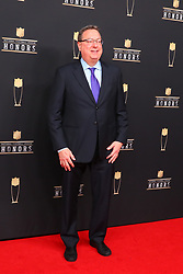 February 2, 2019 - Atlanta, GA, U.S. - ATLANTA, GA - FEBRUARY 02:  Lester Bagley   poses for photos on the red carpet at the NFL Honors on February 2, 2019 at the Fox Theatre in Atlanta, GA. (Photo by Rich Graessle/Icon Sportswire) (Credit Image: © Rich Graessle/Icon SMI via ZUMA Press)