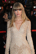 CANNES, FRANCE - JANUARY 26:  Taylor Swift arrives at the NRJ Music Awards 2013 at Palais des Festivals on January 26, 2013 in Cannes, France.  (Photo by Tony Barson/WireImage)