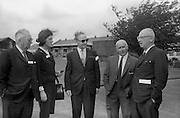8/9/1964<br /> 9/8/1964<br /> 8 September 1964<br /> <br /> Mr. John Cummins of the Philadelphia Inquirer, Miss Una Barry of Aer Lingus, Mr C.D. Kelly , Mr Michael Rooney Editor of the Irish Independent and Sam Snulsky of Hearst Newspapers
