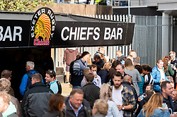 Fans in the Piazza prior to kick off - Mandatory by-line: Ryan Hiscott/JMP - 19/10/2019 - RUGBY - Sandy Park - Exeter, England - Exeter Chiefs v Harlequins - Gallagher Premiership Rugby