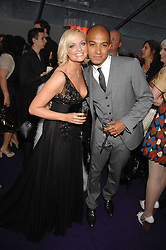 EMMA BUNTON and JADE JONES at the 2008 Glamour Women of the Year Awards 2008 held in the Berkeley Square Gardens, London on 3rd June 2008.<br />