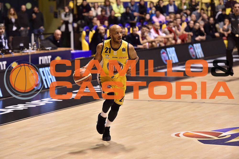Jones Andre<br /> FIAT Torino - EA7 Emporio Armani Milano<br /> Lega Basket Serie A 2017-2018<br /> Torino 10/12/2017<br /> Foto M.Matta/Ciamillo & Castoria
