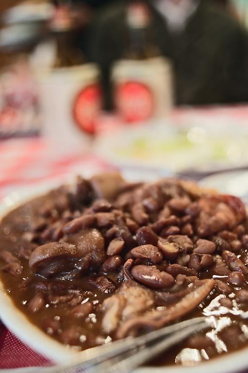 Bean stew entree at Fernando's Portuguese restaurant on Macau