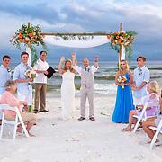 Stanfield-Gumina Beach Wedding Photos