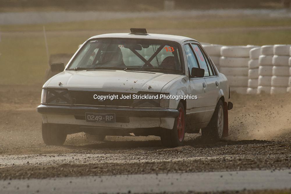 Craig Jarvie - Holden Commodore - Rallycross Australia - Winton Raceway - 16th July 2017