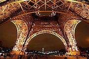Eiffel Tower base, Paris, France