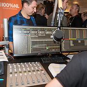 NLD/Blaricum/20161118 - Gordon presenteert nieuwe cd 'Gordon Compleet' , Radio studio
