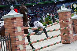 Igor Atrokhov, (RUS), Indigo Pyreneen - Jumping Eventing - Alltech FEI World Equestrian Games™ 2014 - Normandy, France.<br /> © Hippo Foto Team - Leanjo De Koster<br /> 31-08-14