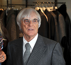 BERNIE ECCLESTONE at a party hosted by Petra Ecclestone at Matches, 87 Marylebone High Street, London on 7th September 2009.