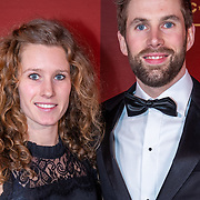 NLD/Amsterdam/20181219-NOC * NSF Sport Gala 2018, Rianne de Vries en Daan Breeuwsma