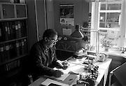 Förrådsmästare vid driftverkstaden i Hagalund 1981