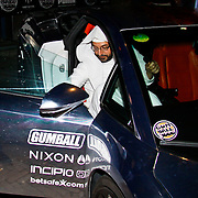 NLD/Amsterdam/20100501 - Gumball 3000 Amsterdam, sjeik met een verzilverde auto