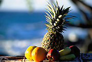 Tropical Fruit at Luau<br />
