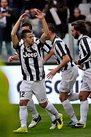 Sebastian Giovinco esultanza , goal celebration , Juventus.Calcio Juventus vs Sampdoria.Serie A - Torino 06/1/2013 Juventus Stadium .Football Calcio 2012/2013.Foto Federico Tardito Insidefoto.