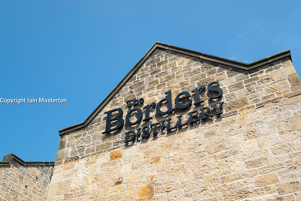 View of new the new Borders Distillery in Hawick, Scotland, UK