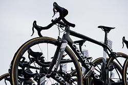 Colnago V2R against grey skies at Ronde van Drenthe 2018 - a 157.2 km road race on March 11, 2018, from Emmen to Hoogeveen, Netherlands. (Photo by Sean Robinson/Velofocus.com)