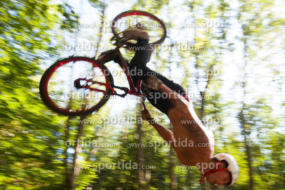Divjina dirt jam, mountain bike and bmx competition at dirt park divjina, Krize, Trzic on 8 September, 2012, in Sportni center, Kranj, Slovenia. (Photo by Grega Valancic / Sportida)