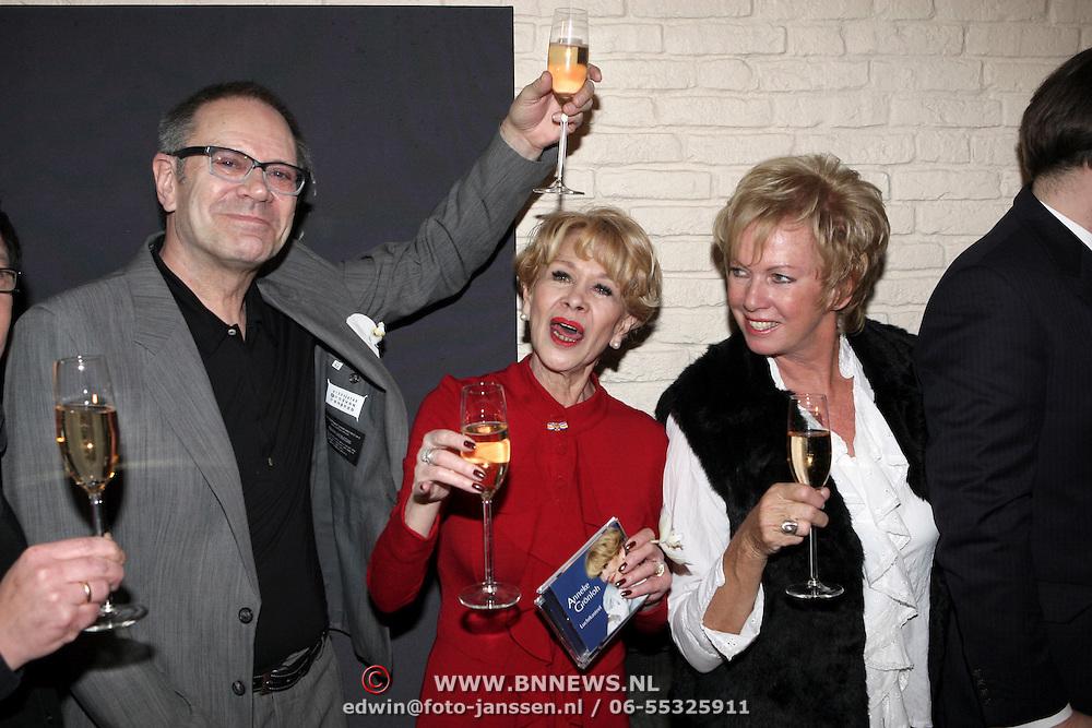 NLD/Amsterdam/20080307 - CD presentatie Anneke Grönloh, Lonny Gerungan, Rob de Nijs, Anneke, Ria Valk en Bart Peeters